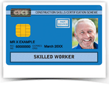 Blue CSCS Card - Skilled Worker, NVQ, Vocational