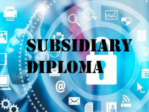 Subsidiary Diploma in IT
