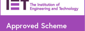 IET Approved Scheme Badge -RGB