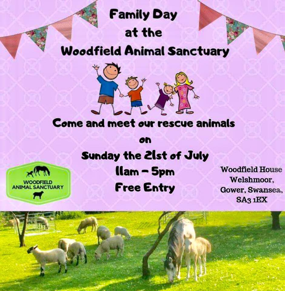 Woodfield Animal Sanctuary Open Day